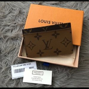 Louis Vuitton Reverse Monogram Card Holder